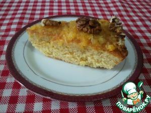 Рецепт Апельсиновый пирог с орешками
