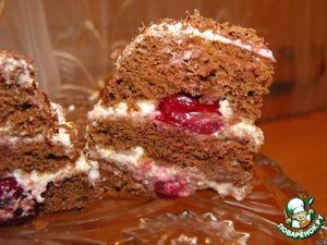 Рецепт Бисквит за 3 минуты и мини-тортик из него
