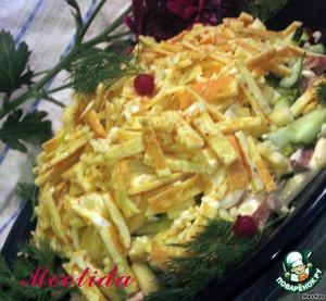 "Рецепт: Салат ""Идиллия"""