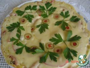 Рецепт Пирог на сковороде за 5 минут