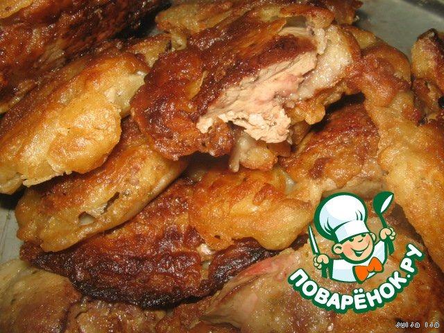 печень куриная жареная в кляре рецепт с фото
