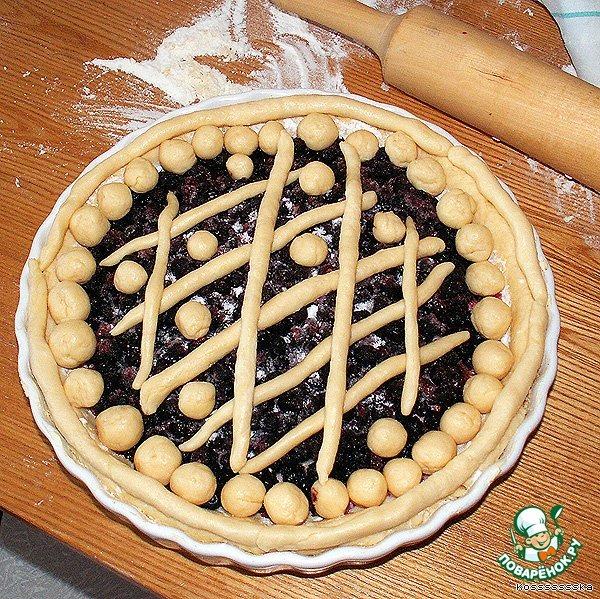 Готовим простой рецепт приготовления с фото Ягодный пирог на скорую руку #5