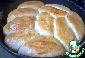 Рецепт Тесто для пирожков за 15 минут