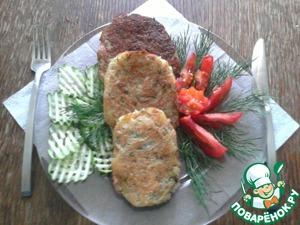 Рецепт Драники постные с грибами в томате