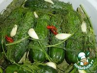 Огурцы малосольные ингредиенты