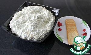 Рецепт Закуска творожно-сырная