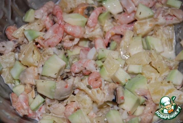 Возбуждающий салат для любимой вкусный рецепт приготовления с фото пошагово как приготовить #4