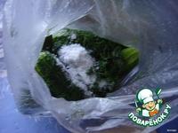 Огурцы малосольные в пакете по-быстрому ингредиенты