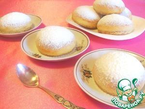 Рецепт Пасхальные булочки из дрожжевого теста с секретом