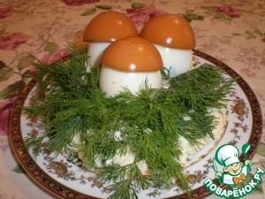 "Рецепт Салат ""Полянка"""