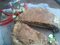 Сочный пирожок из лаваша ингредиенты