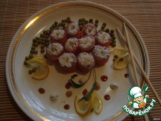 Романтичные закуски с фото