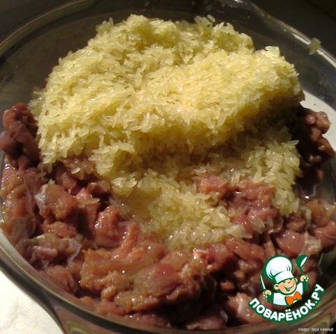 Как приготовить Фаршированый перец по-домашнему домашний рецепт с фото #5