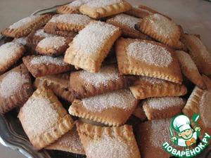 Рецепт Бишкоты с мускатным орехом и корицей