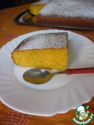 Рецепт Торт морковный от бабушки Анны (La torta con carote di nonna Anna)