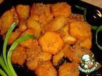 Тыквочка, обжаренная в сухарях ингредиенты