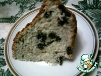 Кекс с черникой ингредиенты