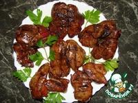 Куриная  печень жареная ингредиенты