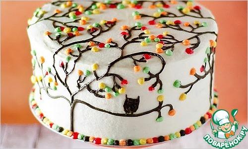 Украшение тортов в домашних условиях, своими руками, идеи с