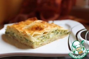 Рецепт Пирог со шпинатом и сыром фета