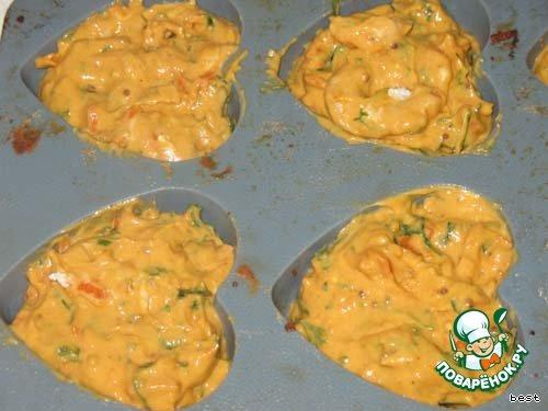 Острые маффины с морковью и чесноком вкусный рецепт с фотографиями пошагово готовим #3