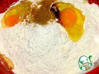 Закусочные маффины с сыром и курицей ингредиенты