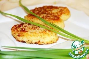 Готовим Картофельные зразы с селедкой и луком простой пошаговый рецепт приготовления с фото