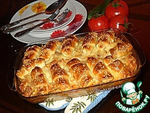 Рецепт Котлеты с картофелем многослойные
