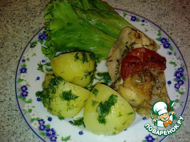 рецепт с кроликом в духовке с соусом