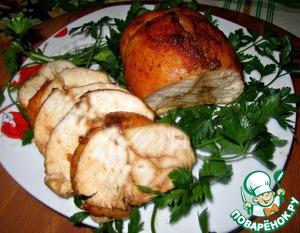 Рецепт Куриная пастрома с соевым соусом