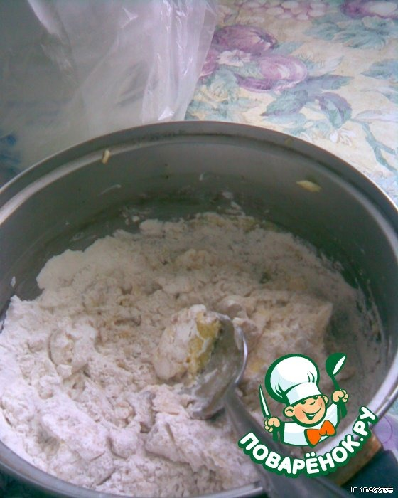 Пирог фаршем и картошкой со слоеным тестом рецепт