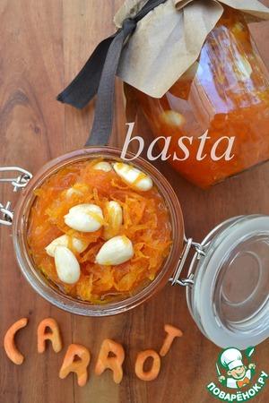 Рецепт Варенье из моркови