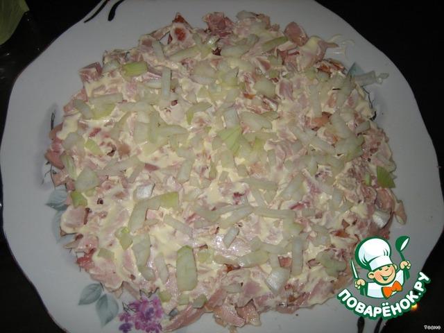 Рецепт салата с маком с