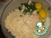 Котлеты из цветной капусты с сыром ингредиенты