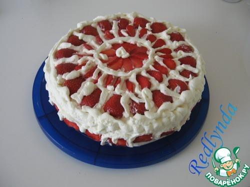 Торт необычный с цветами фото 4