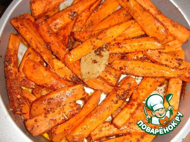 Как запечь морковь в духовке для салата