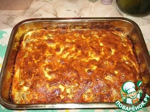 Рецепт Запеканка с мясом и овощами