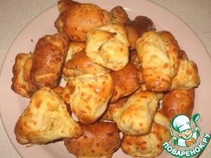 Рецепт Сырные рогалики