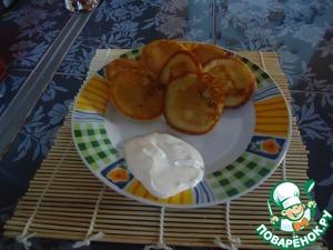 Рецепт Чечевичные оладьи