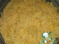 Запеканка с картофелем, фаршем и грибами ингредиенты