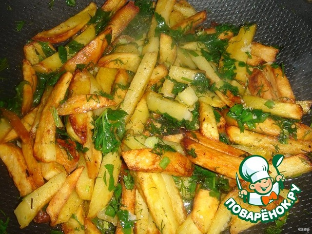 Как готовить жареную картошку с фото