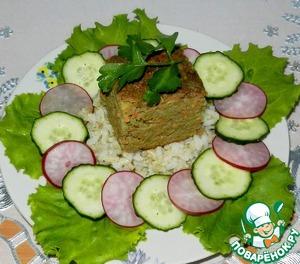 Рецепт Запеканка из печени и картофеля с морковью