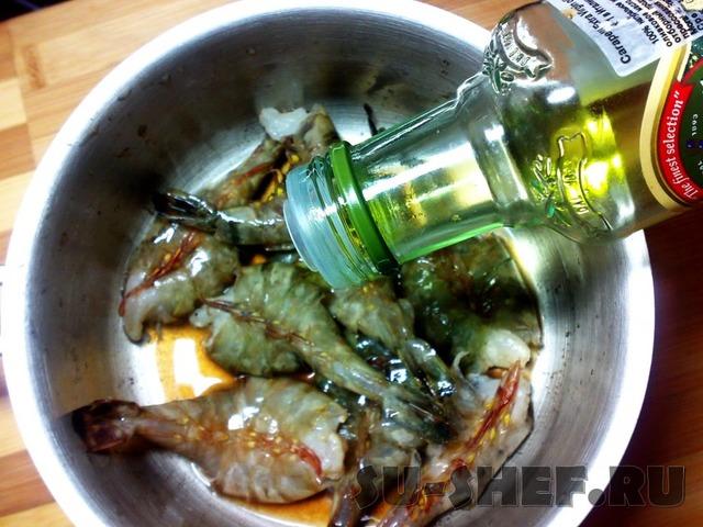 Креветки кисло сладкий соус рецепт