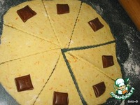 Апельсиновые рогалики с шоколадом ингредиенты