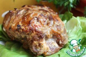 Рецепт: Мясо, запеченное в йогурте
