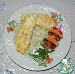 Рецепт Рыбные колбаски с морковью