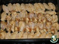 Глазированные куриные крылышки с чесночным соусом ингредиенты