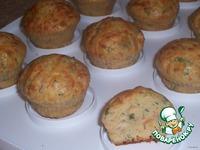 Закусочные кексики с тунцом и форелью - кулинарный рецепт