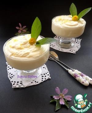 Рецепт Десерт «Лимонный поссет»