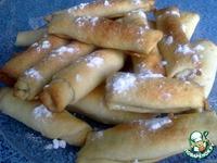 Ореховые трубочки ингредиенты